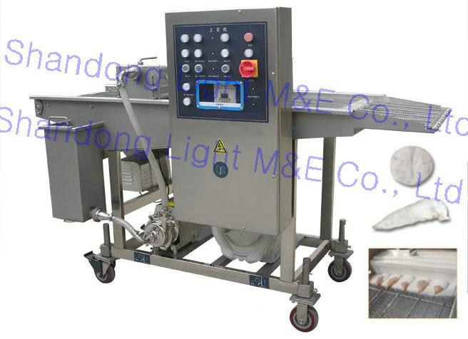 Enrobeuse de sauce automatique machine de d coupe for Equipement restauration rapide